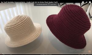 Read more about the article Tığ ile yapacağınız şık örgü şapka modeli