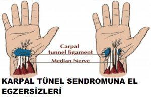 Read more about the article Karpal tünel sendromu için egzersiz nasıl yapılır