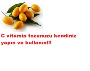 Read more about the article Evde C vitamini tozunu kendiniz yapın