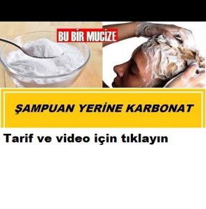 Read more about the article ŞAMPUAN YERİNE KARBONAT