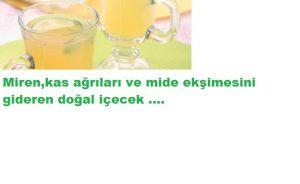 Read more about the article MİGREN KAS AĞRILARINI GİDEREN İÇECEK