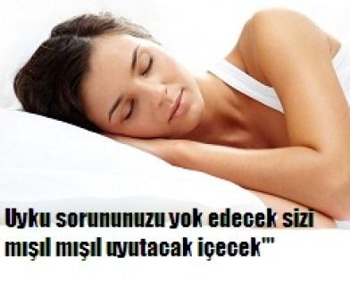 Uyku sorununuz varsa yatmadan evvel bunu için mışıl mışıl uyuyun