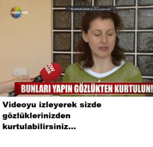 Read more about the article Sizi gözlükten kurtaracak yöntem
