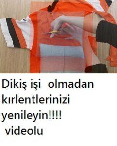 Read more about the article DİKİŞ OLMADAN KIRLENT YENİLEYİN VİDEOLU