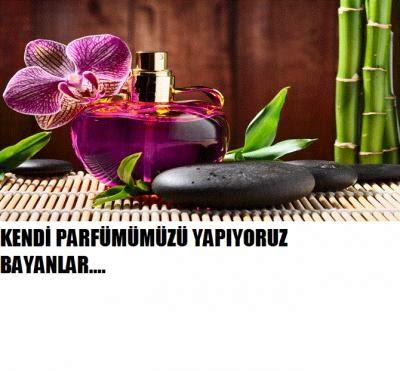Kendi parfümünüzü kendiniz yapın