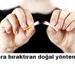 Sigara bıraktıran en etkili yöntem