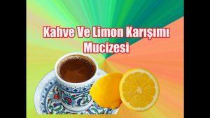 Read more about the article Limonlu kahve içmenin öyle bir faydası var ki